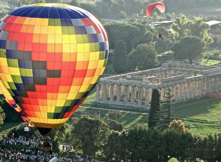 Der Welt entschweben: Ballonfahrten über Paestum