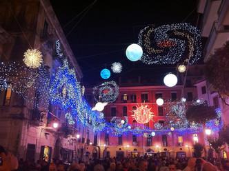 Leuchtende Augen garantiert: Lichterfestival in Salerno