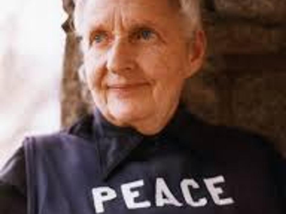 Peace Pilgrim: The most inspiring person.