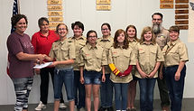 Girl Scouts Troop 161 (Tents) 04.23.19.J