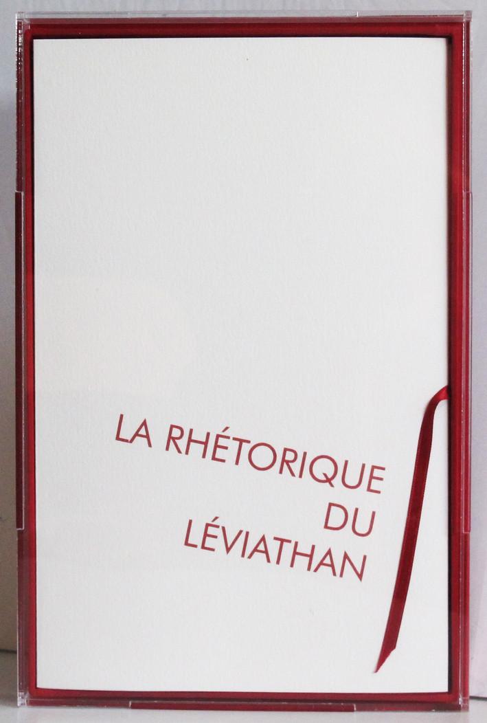 La rhétorique du léviathan, 2014