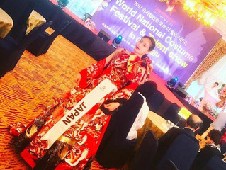 Fuyuki Fujiwara won a prize of TOP 15 in the MISS SUPERTALENT OF THE WORLD 2017