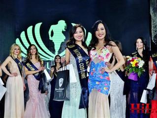 ミスコンの世界大会Lady Universeにて弊社モデル・謝村梨帆がナショナルコスチューム賞を受賞しました