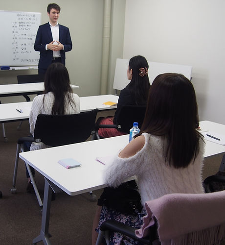 For international company,we serve language and culture learning program (Small classes:Maximum 5 people)  You can learn how to deal with Japanese customers and client with those programs. ​