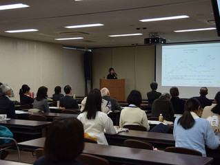 Our CEO Hanako Kuno had a presentation in Osaka University.