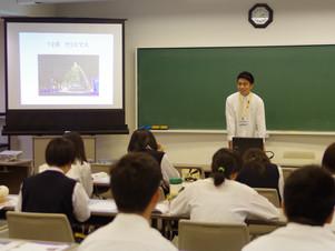 新田暁高校の2年生が来てくれました♪
