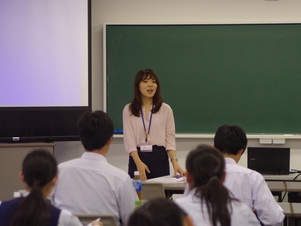 桐生西高校の2年生が来てくれました♪