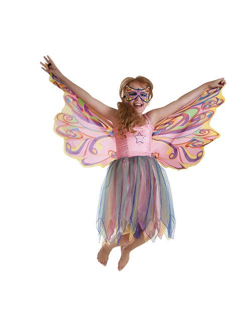 Fly-Away Dresses, Fairy Rainbow