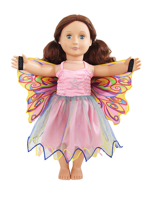 Fly-Away Dresses for Dolls