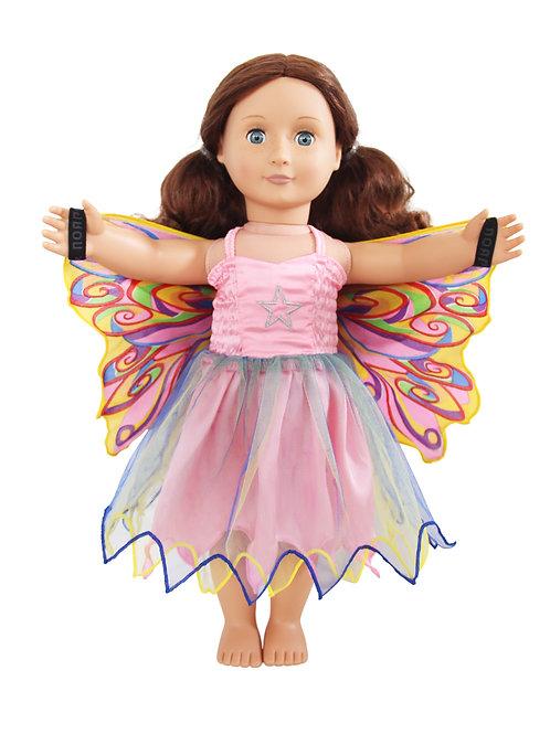 Fly-Away Dresses for Dolls