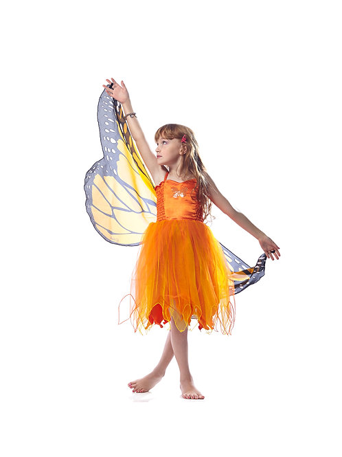 Fly-Away Dresses, Monarch Butterfly