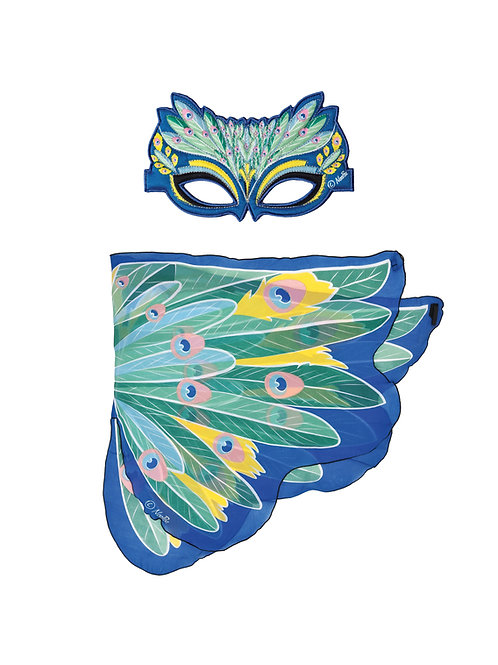 Wings + Mask Sets, Peacock