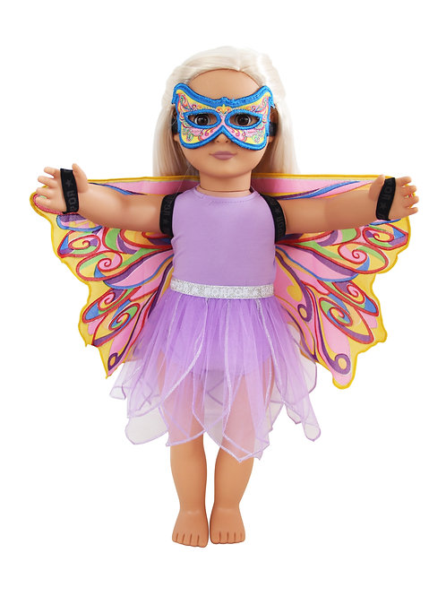Fly-Away 4-PC Playset for Dolls