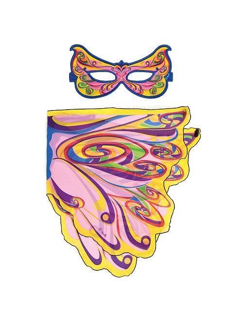 Wings + Mask Sets, Fairy Rainbow