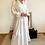 Thumbnail: Robe lin blanche ROMA
