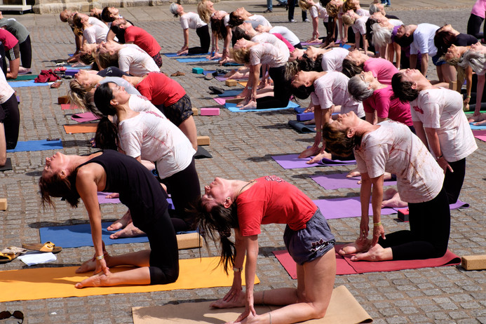 Convention Yoga Demonstration