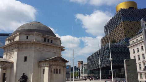 Birmingham ICC Piazza