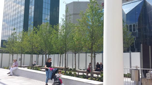 Birmingham Convention Centre Piazza