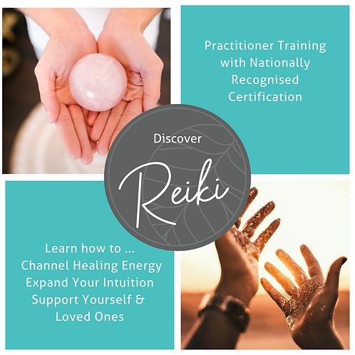 Reiki & Energy Medicine Training - 28th & 29 Novemberth August