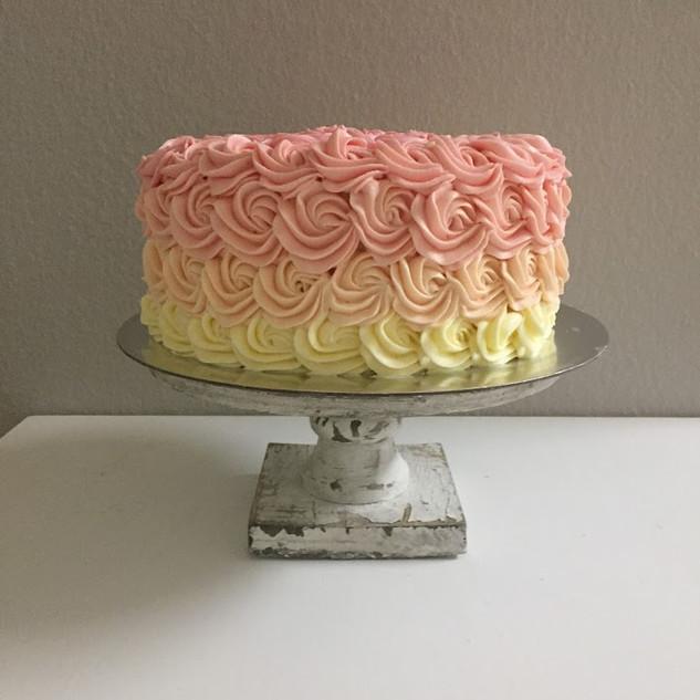 butter cream roses ombre cake.JPG