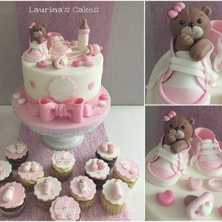 Pink baby teddy cake.JPEG