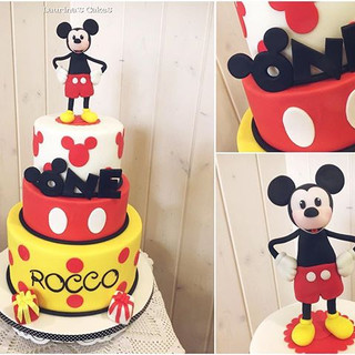 Mickey Mouse One for Rocco's fist Birthd