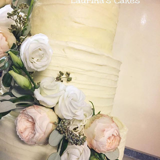 Details of yesterday's Wedding cake at #