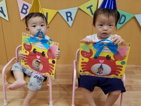 9月生まれのお誕生会