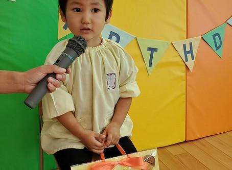 10月生まれのお誕生会