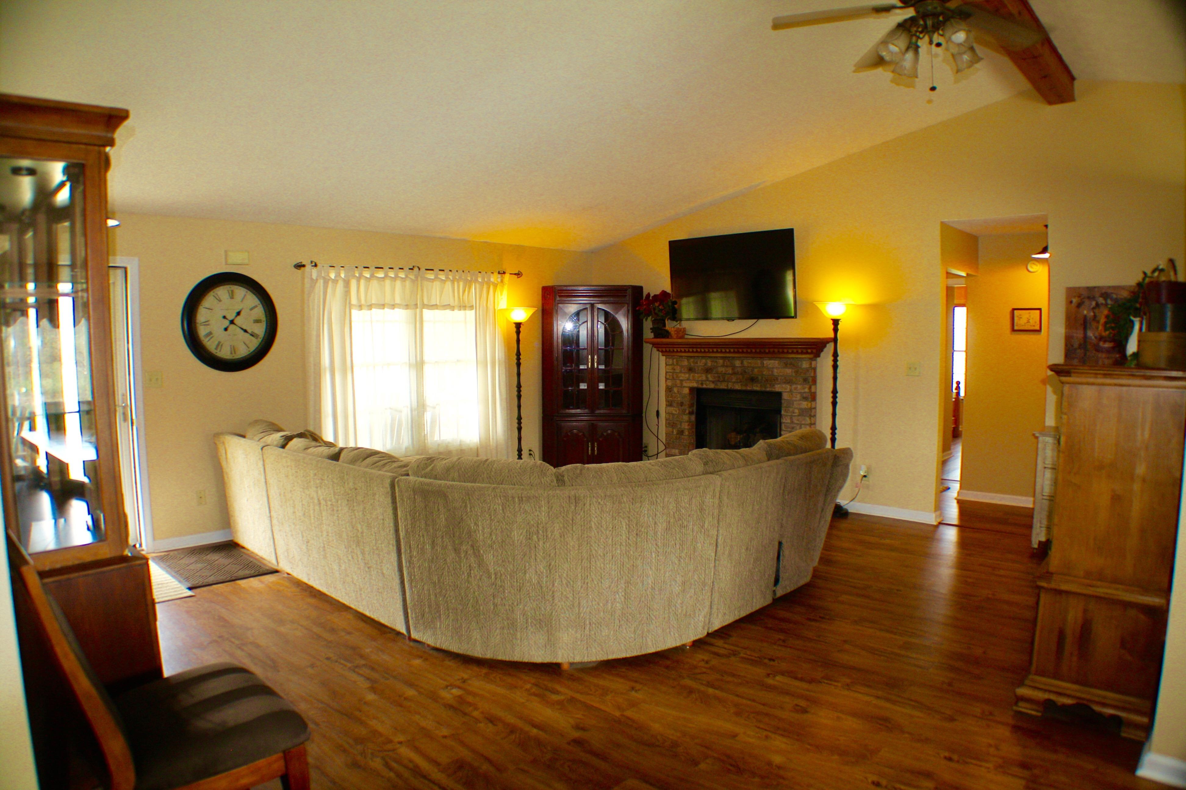 Pond House Living Room