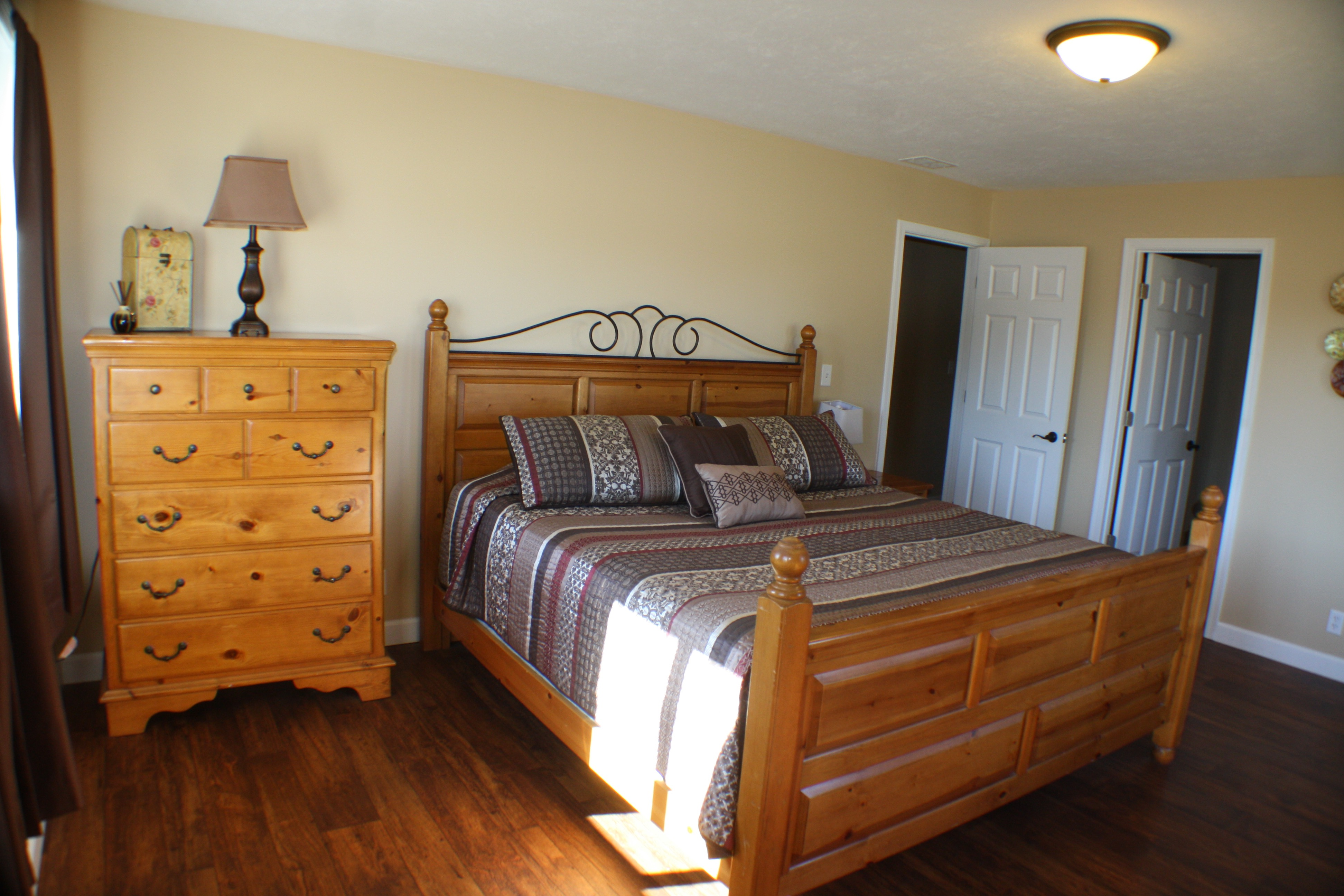 Ranch House King Bedroom