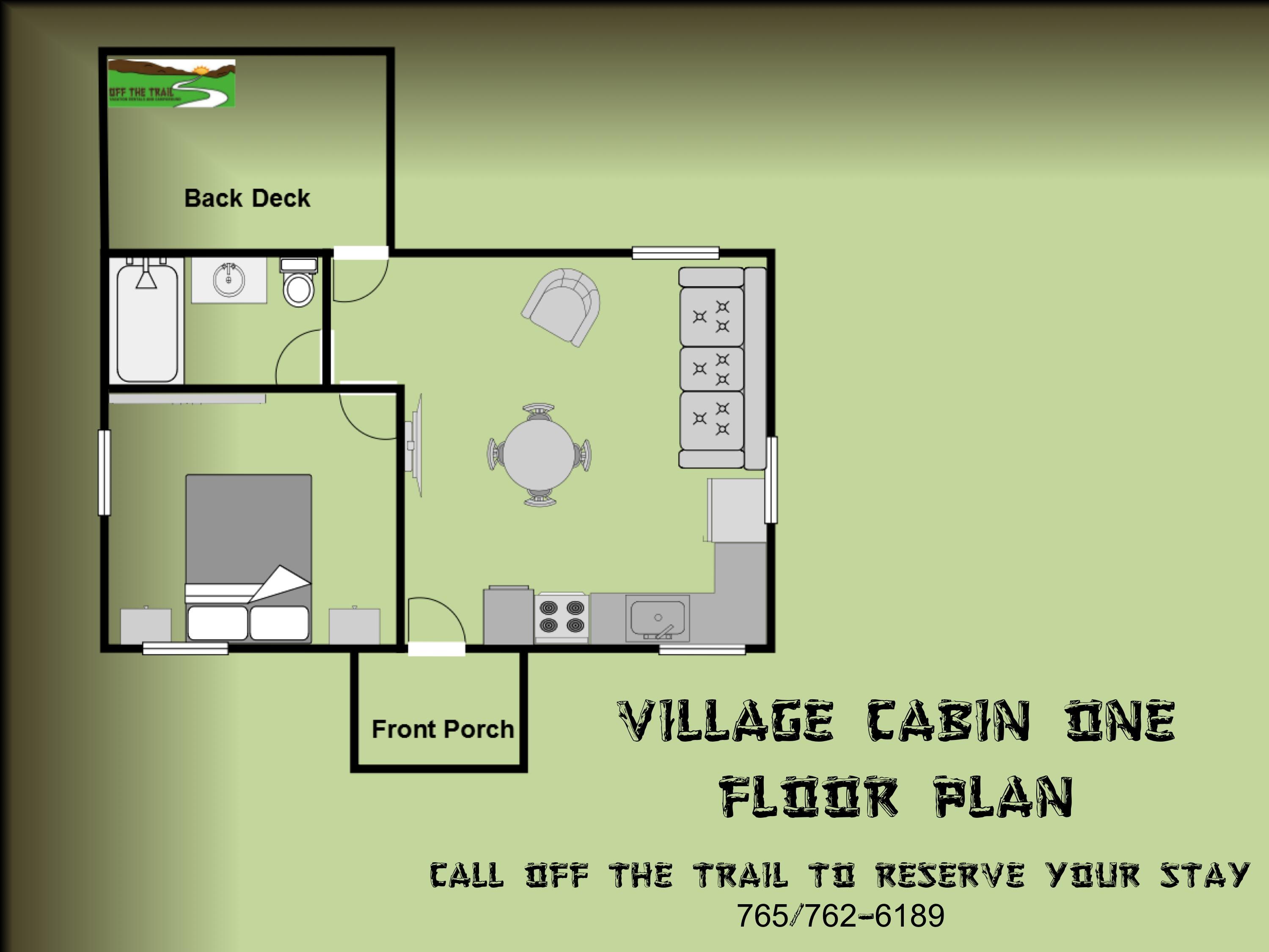Village 1 Floor Plan