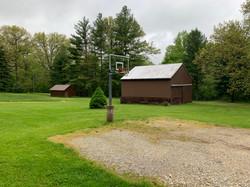 Hilltop Outside w/ Basketball Court