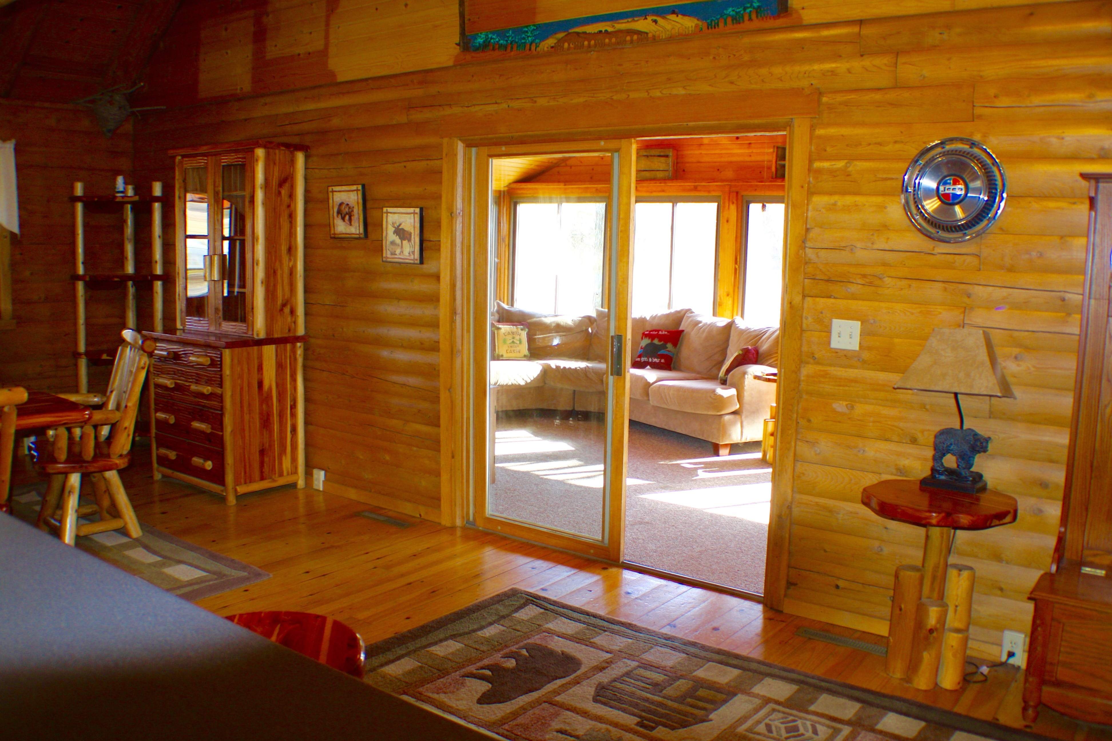 Log Cabin Sunroom