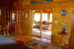 Log Cabin Sunroom