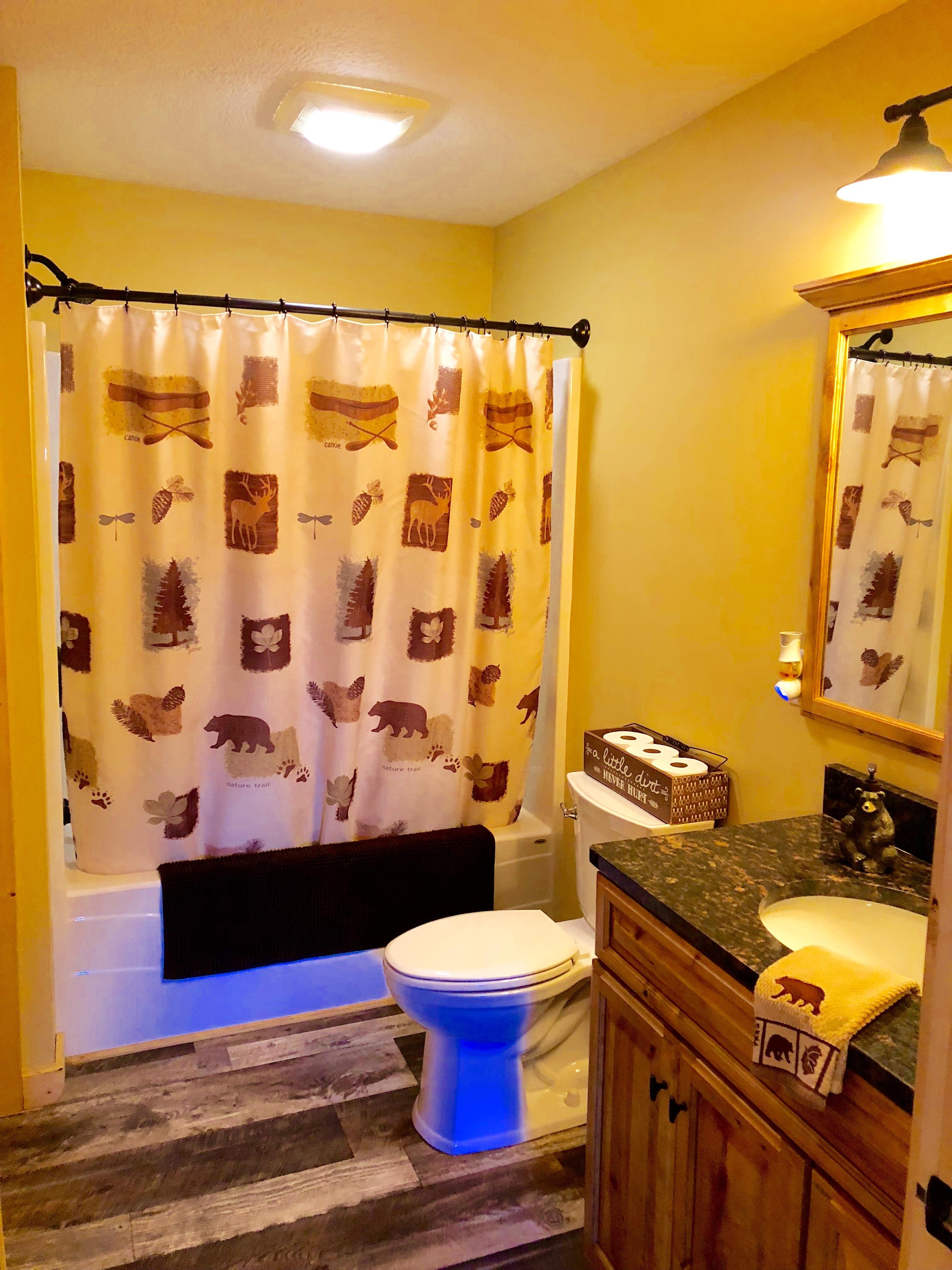 Lodge Bathroom Upstairs