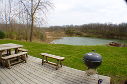 Pond House Deck & Pond