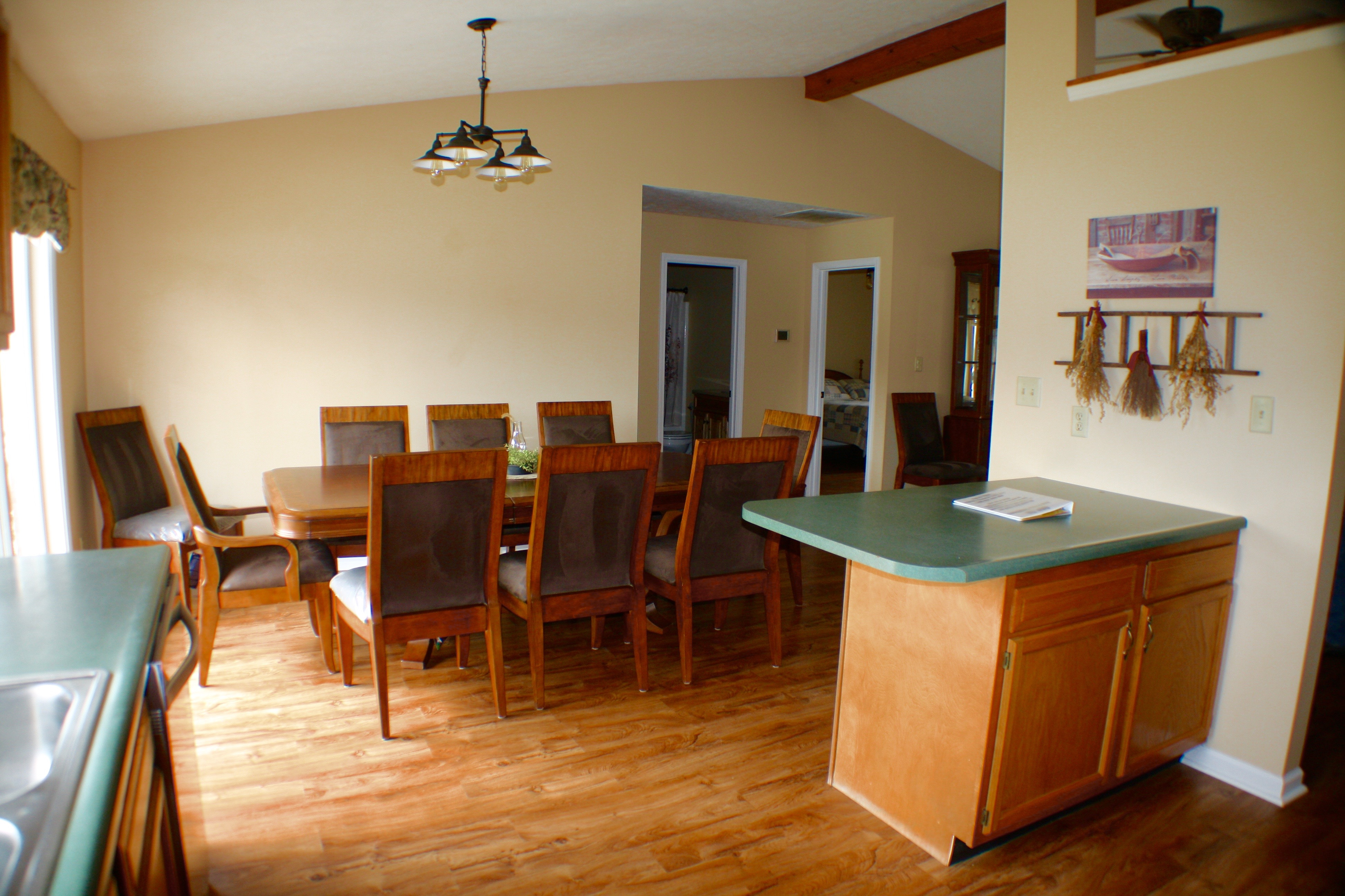 Pond House Dining Area