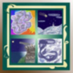 Quadro Arte digitale di Marò Stelle nell'universo