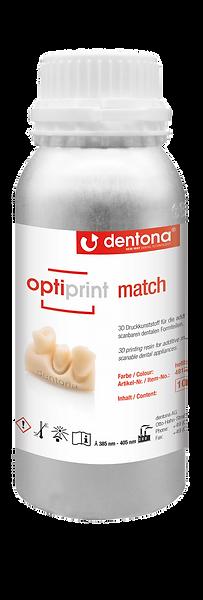 Dentona optiprint match