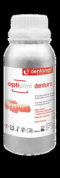 Dentona optiprint denture