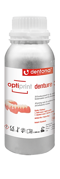 Żywica Dentona optiprint denture