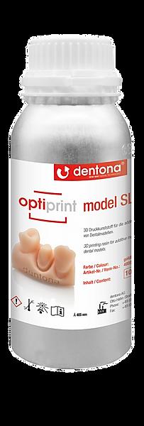 Żywica Dentona optiprint model