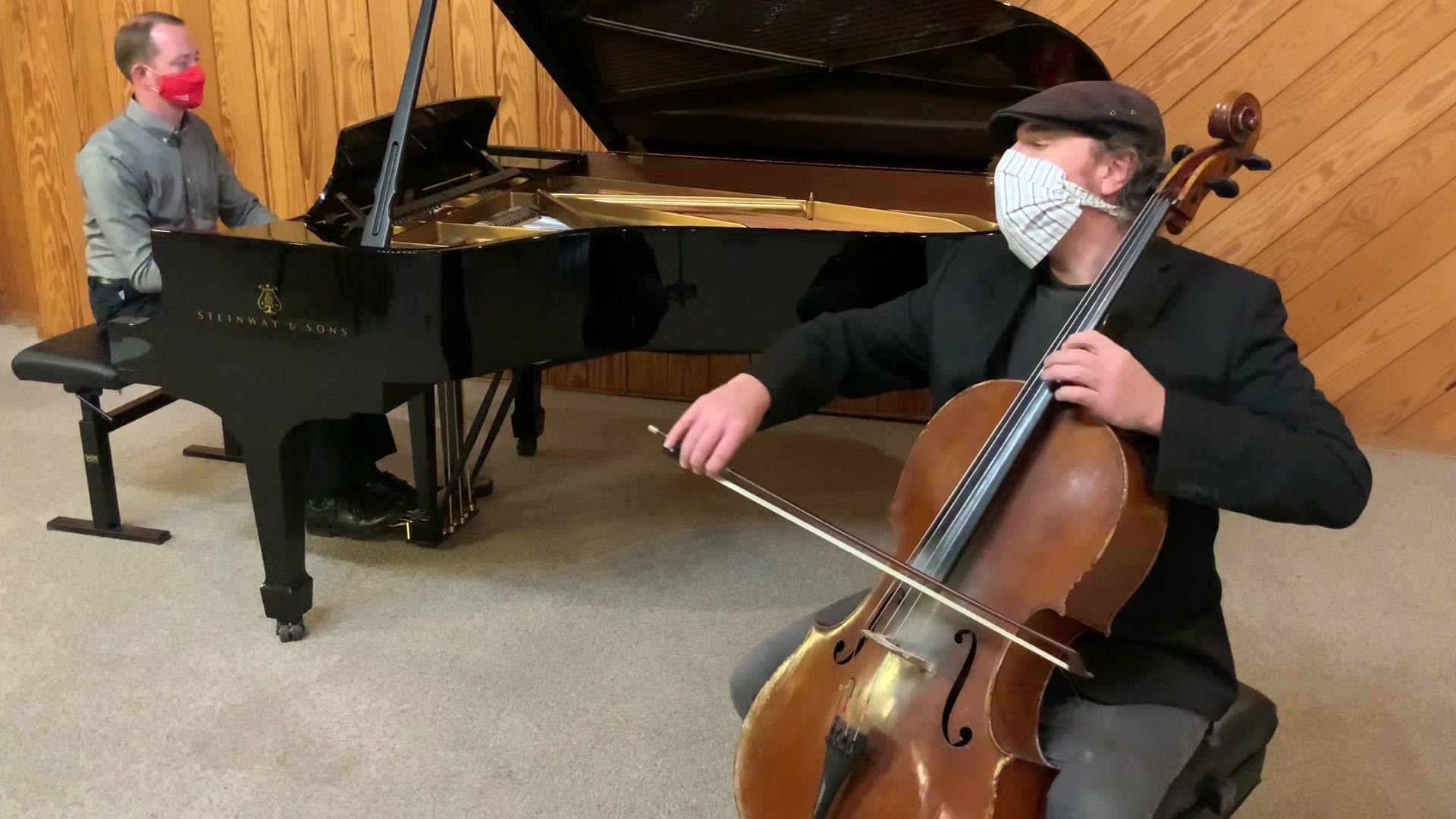 Debussy Cello Sonata I, Dave Eggar and Peter Ryan.mp4