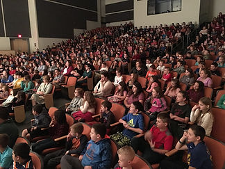 School Show Audience. Photo by Jimmy D. Gibson