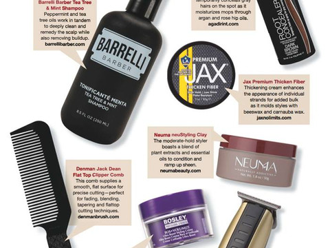 Man Magazine, Men's Hair Care Must Haves