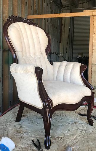 Vintage Seat Reupholster Victoria Reupholster
