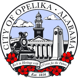 City of Opelika Seal