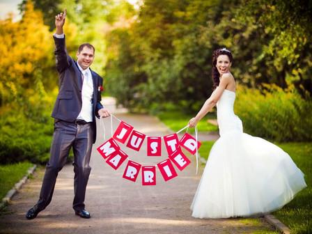 רשימת פריטים שחשוב לזכור לקחת ביום החתונה