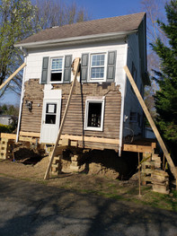 HOUSE LIFTING, NEW FOOTING AND CRAWL SPA